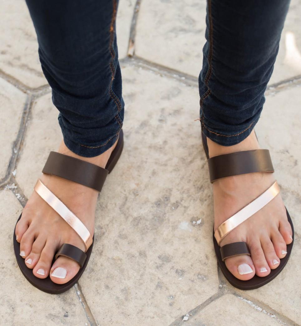 Leather Greek SandalWomen's Handmade Nemesis A By xBWreodC