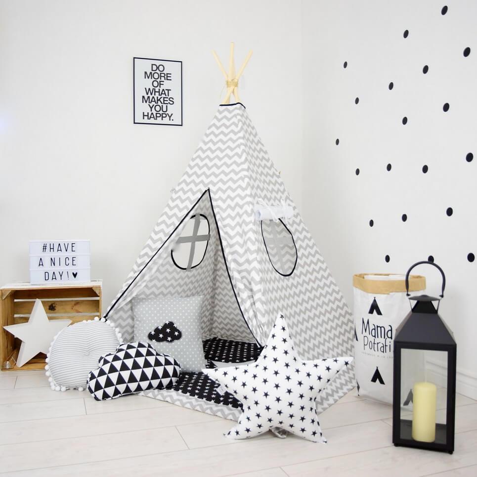 buy online 97bf8 eef62 Chevron Children's Teepee Tent