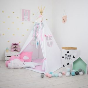 Add the perfect touch to your child's room with the Snow Queen Children's Teepee Tent. Let your little enjoy their own teepee for hours of play time and imagination.