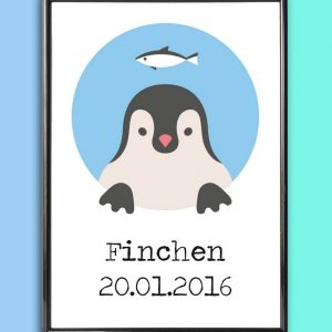 Add some effortless style to your home with the Personalised Name Print Penguin that will compliment your interior décor.