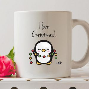 Sip your favourite tea or coffee with the I Love Christmas Coffee Mug that makes a fantastic present or a little treat for yourself.