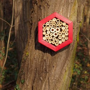 Designed to look wonderful in a garden, the Bee Hotel Mars is an ideal gift for a gardener or a wildlife enthusiast as well as anyone with a garden who is interested in garden design.