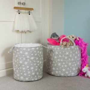 A great gift to keep teenage rooms a little tidier, the Grey Star Children's Laundry Basket is a stylish way to store your laundry or toys and bits from around the home.