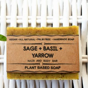 A real treat for your washtime, the Sage Basil Herbal Natural Soap provides a luxurious and aphrodisiacal blend that will calm your senses.