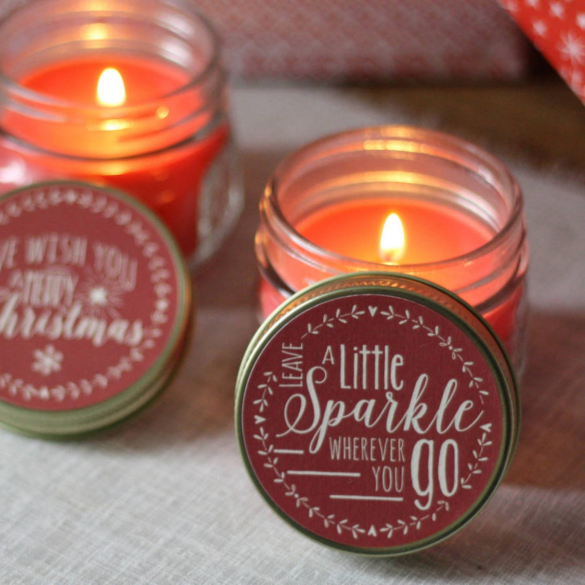 And while it's always nice to find a pretty candle to evoke that holiday spirit, why not pick one that will also bring back all the nostalgic memories of Christmases past?