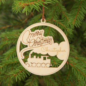 Suitable to be used year after year, the Merry Christmas - Personalised Christmas Ornament will be a unique and beautiful gift for your loved ones.