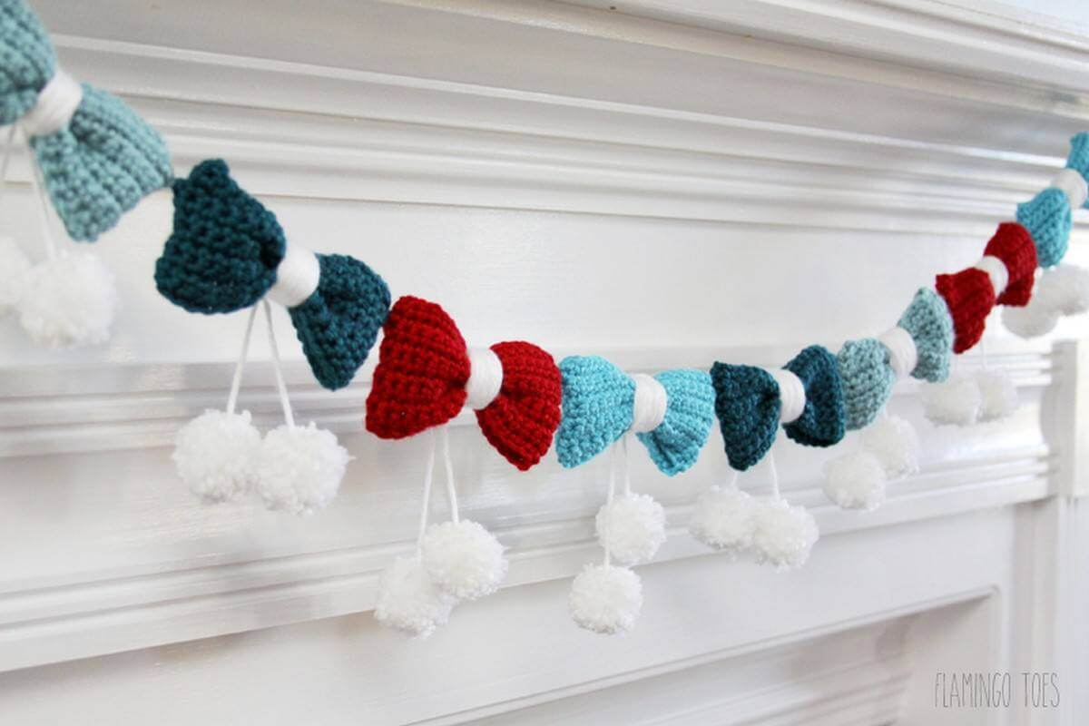 Because decorations (for any occasion) only get better when you put them on a string.