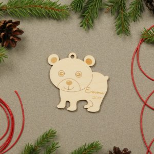 Suitable to be used year after year, the Animal Personalised Christmas Ornament will be a unique and beautiful gift for your loved ones.