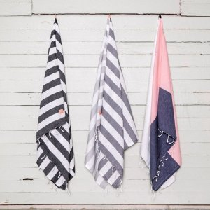 A chic and useful present for both men and women, the Haf Turkish Bath Towel will look truly stunning in your bathroom.